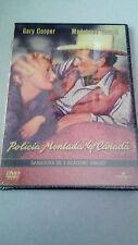 """DVD """"POLICIA MONTADA DEL CANADA"""" PRECINTADA CECIL B DEMILLE GARY COOPER MADELEIN"""
