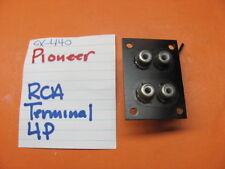 PIONEER  4P RCA TERMINAL SX-440 STEREO RECEIVER