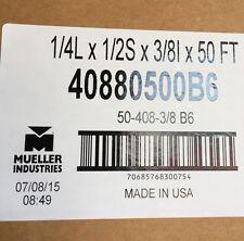 MUELLER LINE SET FOR DUCTLESS MINI SPLITS 1/4L 1/2S 3/8I 50' 40880500B6