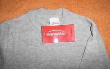 SANETTA Sport  Basic T-Shirt 116  NEU grau, 100 % Baumwolle Unterhemd