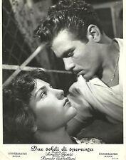 """MARIA FIORE & VINCENZO MUSOLINO in """"Due Soldi di Speranza"""" Original RARE 1955"""
