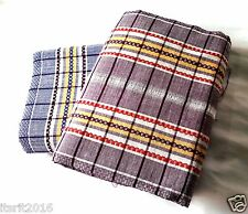 BATH TOWEL -pack of 2-LARGE SIZE(72×34)inch.-SUPERIOR QUALITY- CHOCOLATE & BLUE