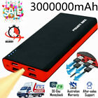External 3000000mAh Power Bank 4 USB Backup Battery Pack Charger for Cell Phone