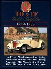 Mg Td & Tf Gold Portfolio 1949-1955, Paperback by Clarke, R. M.