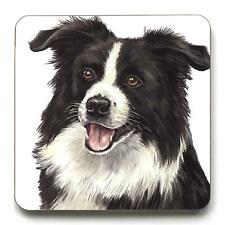WAGGY DOGZ BOARDER COLLIE DOG PUPPY MADE IN UK PRESENT GIFT QUALITY COASTER