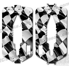 Traxxas T-maxx 3.3 Extended Chassis Plate Protector Kit Checkered Flag
