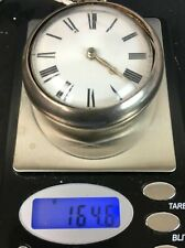ANTIQUE SILVER PAIR CASE FUSEE VERGE BEAUTIFUL POCKET WATCH ENGLISH 164GRA HEAVY