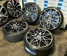 BMW 3 / 4 SERIES 20''inch ALLOY WHEELS  BMW M3 M4 M SPORT WITH NEW TYRES *FOUR*