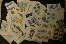 Massive Lot of Block of Fours of United Nations Stamps and Imperf Sheets