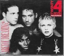 TWENTY 4 SEVEN - Are you dreaming? CDM 4TR Eurodance 1990 (BCM) Germany