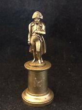 Souvenir Impérial Napoléon Ier Bonaparte Empereur Bronze Miniature XIX ème