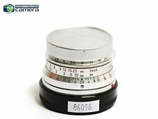 Leica Leitz Summaron M 35mm F/2.8 Lens Chrome *EX*