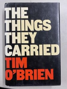 The Things They Carried by Tim O'Brien (1990, Hardcover)