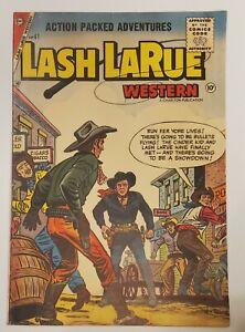 Lash Larue Western #61 VG 4.0 1956