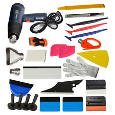 Car Wrap Vinyl Tools Carbon Fiber Squeegee Heat Gun Safety Razor Window Tint