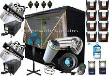 "Best Complete Grow Room Full Setup 2.4m 240cm Tent 6"" Inline Fan Filter 2 X 600w"