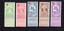 ETHIOPIA.  1936 RED CROSS SET.  M/MINT.