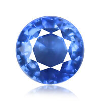 Sapphire 0.57ct Flawless Unheated aaa+ blue color 100%natural earth mined Ceylon