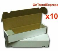 Sport Images 800 Count Cardboard Trading Cards Storage Box Yugioh Pokemon x 10