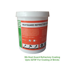 5lb Heat Guard Refractory Coating Upto 3270F For Coating of Bricks