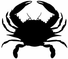 Crab Decals (STSBA-1) Fishing Truck/Boat Window Stickers