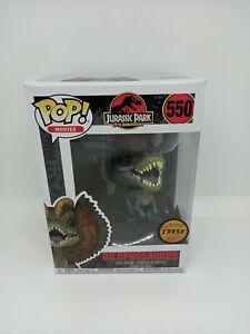 Funko Pop! Dilpphosaurus chase jurrasic park Vinyl Figure 550 movies dinosaur