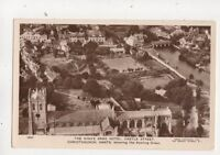 Kings Arms Hotel Castle Street Christchurch Aerial View RP Postcard 645b