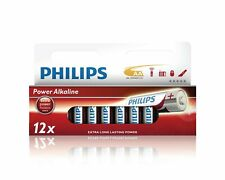 6X Philips Power Alkaline Battery LR6P12W/10 EXTRA LONG LASTING POWER