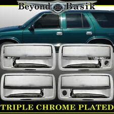 2001-2004 CHEVROLET S10 Chrome Door Handle Cover W/ PSK 4 Door Chevy Overlays
