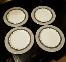 Very Rare - RALPH LAUREN China Cocktail Dress Bread Plates Set of 4 - NWOT