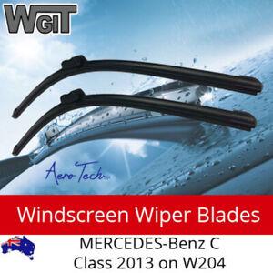 Windscreen Wiper Blades For for MERCEDES-Benz C-Class 2013 on W204 - Aero Tech D