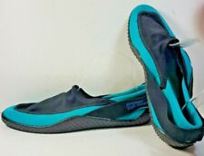 Sperry Top-Sider Water Shoes Teal Black Slip On Men's Size 10 M