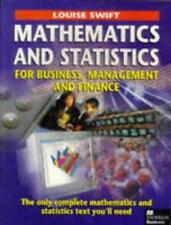 Mathematics and Statistics for Business, Management and Finance, Swift, Louise,