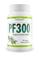 PF300 300mg 90 pills PASSION FLOWER Irregular Heartbeat High Blood Pressure