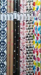 12 Rollen Geschenkpapier 70 cm x 200 cm Neutral und 10 Karten mit Umschlag