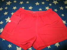 USA Water Safety Products Board Short Shorts Lifeguard Red Trunks Size M VTG