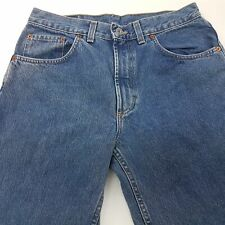 Mustang BASIC Mens Jeans W32 L32 Blue Regular Fit Straight High Rise
