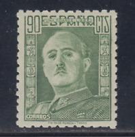 ESPAÑA (1946) NUEVO SIN FIJASELLOS MNH - EDIFIL 1000 (90 cts) FRANCO - LOTE 2