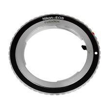 Fotodiox Lens Mount Adapter - Nikon Nikkor F Mount D/SLR Lens to Canon EOS EF,
