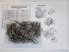 Honda CB100 Twinshock 59 Piece Stainless Allen Bolt Engine Set