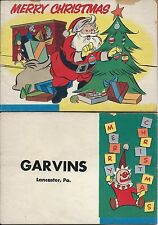 MARCH OF COMICS 153 SANTA CLAUS MERRY CHRISTMAS RARE GIVEAWAY PROMO VG- 1956