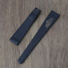Vintage Genuine Longines Brwn Leather Signed Watch Band New Old Stock Watch 18mm