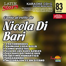 Karaoke Latin Stars 83 Nicola Di Bari Vol.1