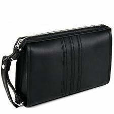 Men Business Bag Man Toiletry Bag  Men's Bag 100% Genuine Cow Leather Bag D5029