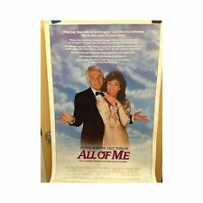 ALL OF ME Original Home Video Poster Steve Martin