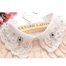 Vintage Ladies Fashion Detachable False Collar Cute Women Collar H