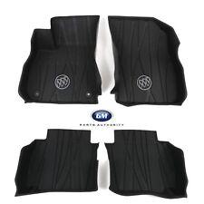 2017-2018 Buick Lacrosse Premium Front & Rear Floor Liners 84204786 Ebony OEM GM