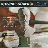 RCA LIVING STEREO LSC-2129 *SHADED DOG* TCHAIKOVSKY CTO REINER CSO HEIFETZ EX/NM