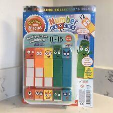 CBeebies Numberblocks 11-15 (Makes Number Blocks 1-5 too!) + Magazine & Stickers