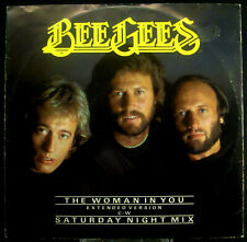 """12""""-Maxi BEE GEES - the woman in you / saturday night mix"""